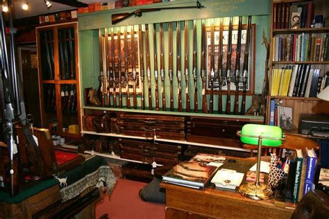 Retro Homes by Cotswood Gun Room Vintage Amp Antique Restored Shotguns