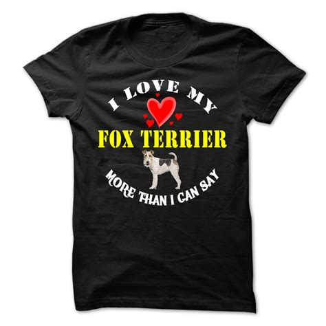 Tshirt Fox 03 by Fox Terrier T Shirt Hoodie