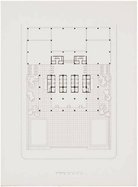 seagram building floor plan gallery of ad classics seagram building mies van der