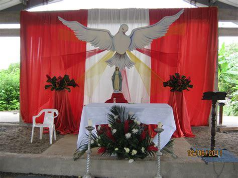 arreglos florales para confirmacion en iglesias parroquia nuestra se 209 ora del carmen de vel 218 pentecost 233 s 2011