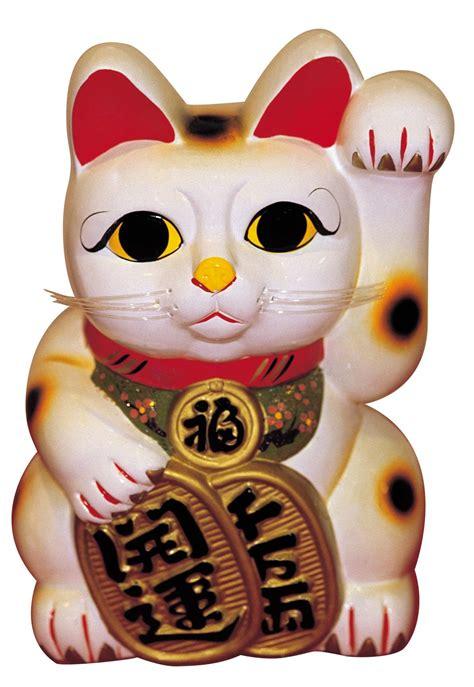 Maneki Neko Fortune Cat prominent symbolism of cats in literature and various cultures
