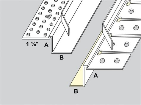 tear away bead for drywall tear away shadow bead archway with leg trim