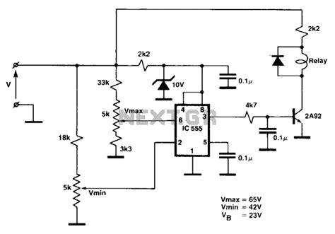 comparator circuit sensors detectors circuits next gr