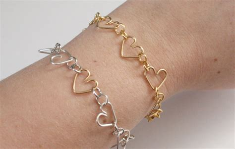 how to make jewelry with wire and diy wire hearts jewelry tutorials