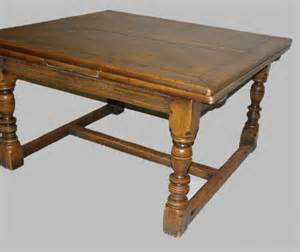 pull out table extension table square oak table with pull out 1351085