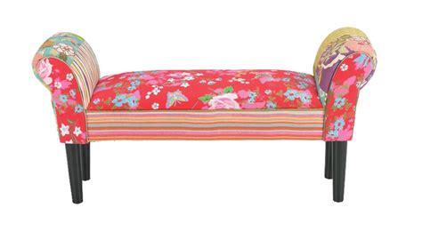 hocker bank patchwork sitzbank sofa stuhl armlehne sitzgelegenheit