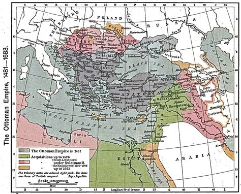 rise of ottoman empire timeline of middle eastern history