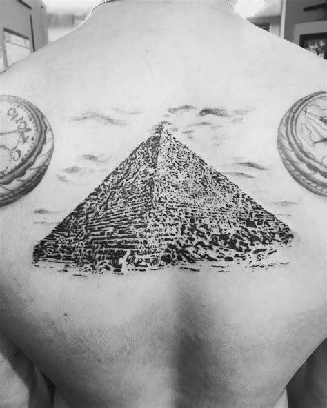 pyramid tattoo 18 refreshing pyramid tattoos to try
