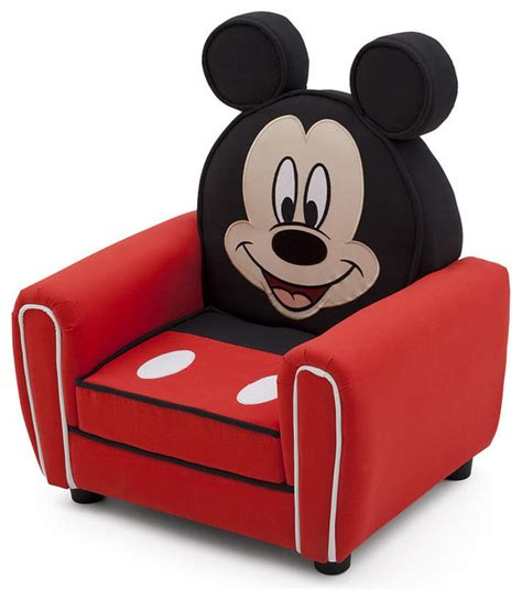 mickey mouse toddler chair children disney mickey mouse upholstered accent club