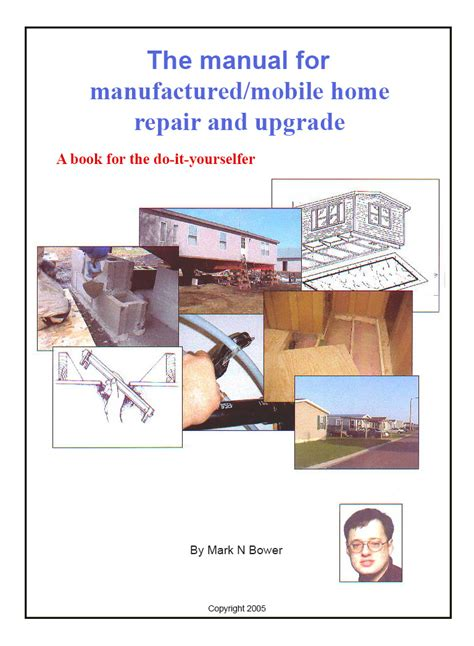 manual for mobile manufactured home repair upgrade