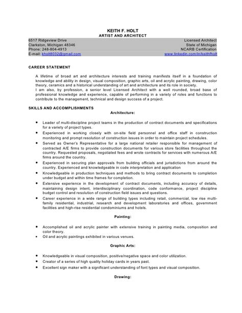 architect resume sle 28 images software architect