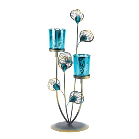 peacock home decor wholesale peacock plume candle holder wholesale at koehler home decor