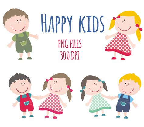 children clipart happy smile clipart children clip