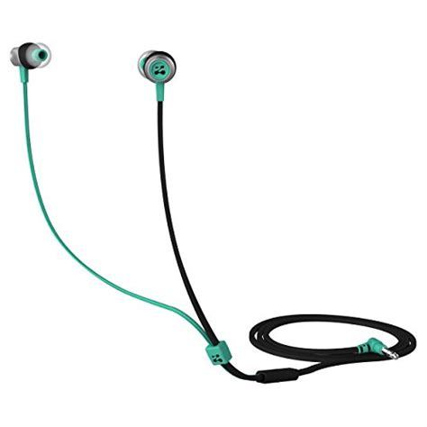 rugged earbuds with mic zipbuds slide sport earbuds with mic most durable tangle free workout in ear headphones