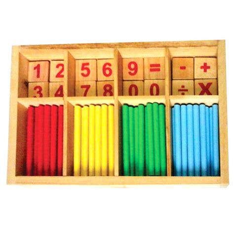 Stik Kayu Untuk Edukasi mainan edukatif dari kayu stik belajar berhitung kayu seru