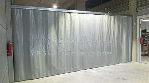 cortinas aislantes acusticas cortina corredera de lona de pvc ypsis