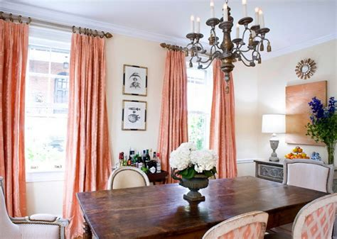 curtains for peach walls gentle peach color in the interior ideas for home garden