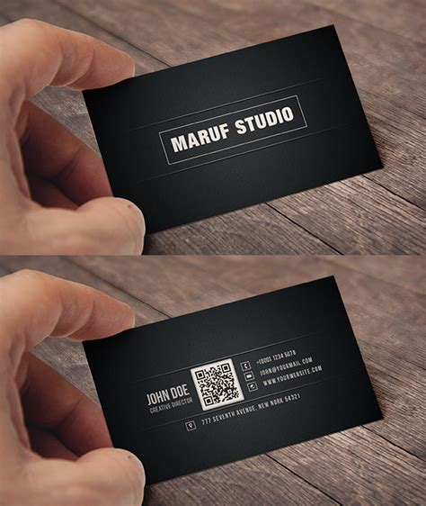business card size template psd free psd business cardpixshub