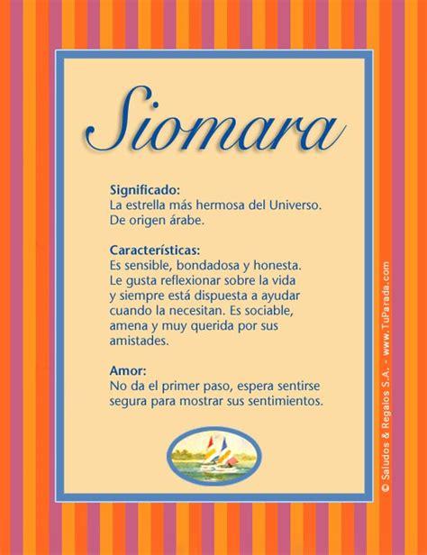 Offer Letter O Que Significa Siomara Significado Nombre Siomara Nombres