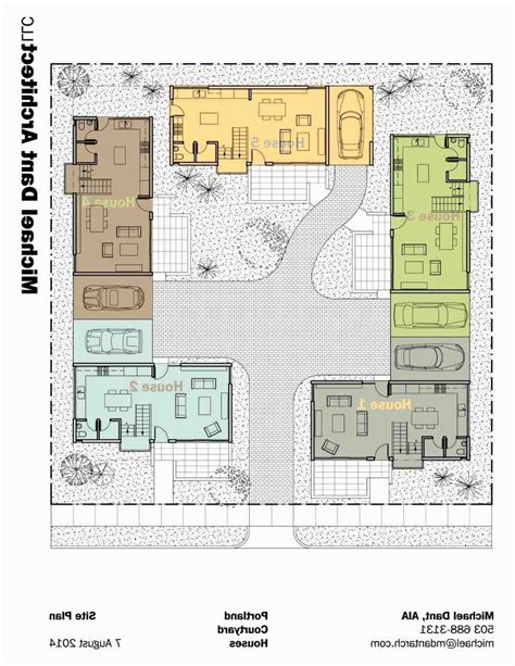 Style House Plans With Courtyard by Hacienda House Plans Center Courtyard