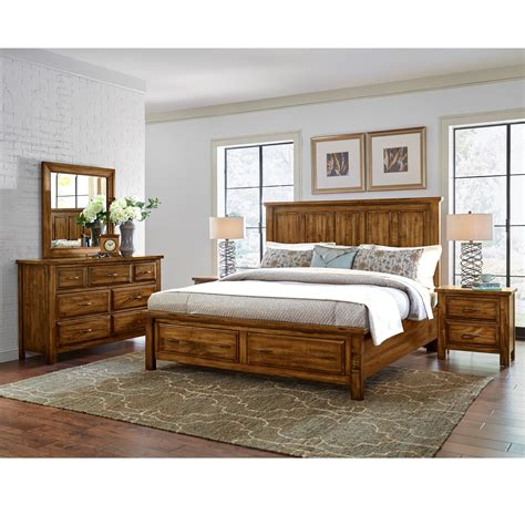 vaughan bassett bedroom artisan post by vaughan bassett maple road king bedroom