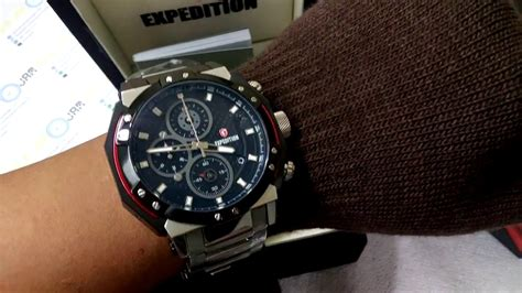 Jam Tangan M V M T 0370 Box 5 jam tangan expedition timepiece e 6385m original