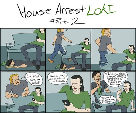 what is house arrest house arrest loki 2 by smachajewski on deviantart