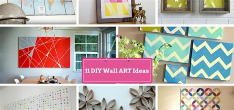 Handmade Arts And Crafts Ideas - cool diy wall decorating ideas