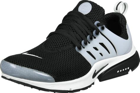 nike air presto shoes black grey