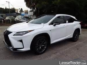 Lexus Lease Transfer Fee 2017 Lexus Rx 350 Lease Thousand Oaks Ca 36 Month Lease
