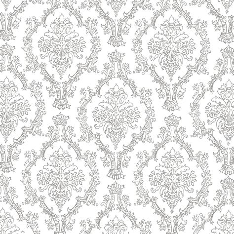 pattern white and gray mel stz 19 colour pencil damask patterns