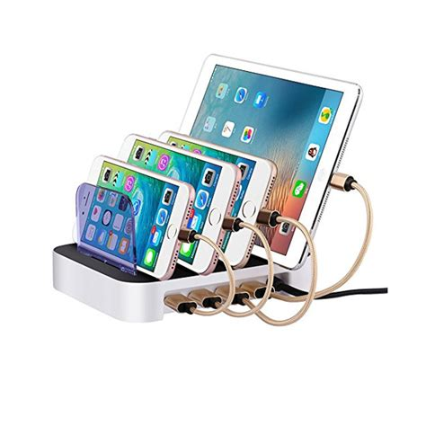 phone charger organizer usb electronics charging station 4 port organizer fast