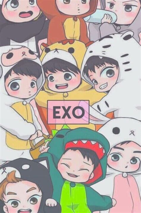 wallpaper animasi exo 199 best images about exo fanart on pinterest dashboards