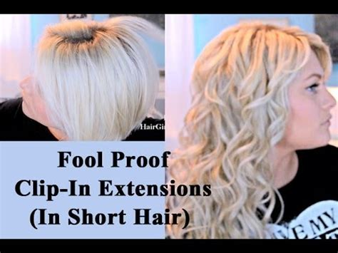 how to do bob hair glue extention easiest way to blend extensions in short hair youtube