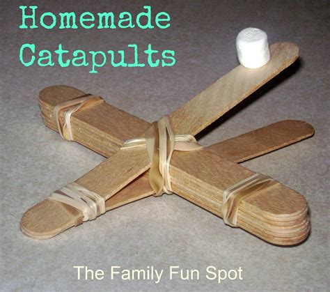 Handmade Catapult - the family spot catapults