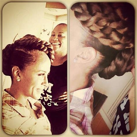 nicole ari parker braided hairstyles 242 best images about twist and braids on pinterest