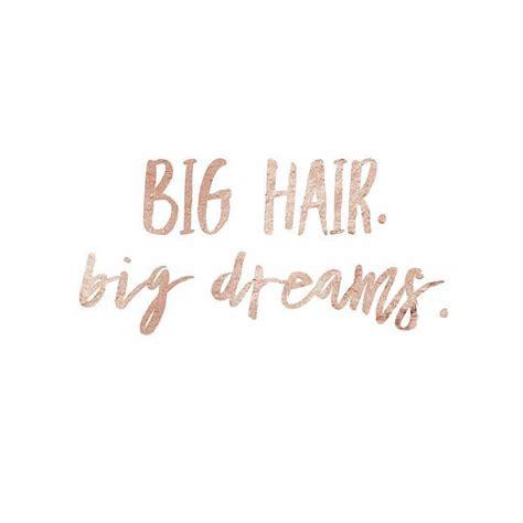 hair quotes luxury hair salon quotes big hair big dreams