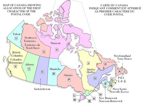 canadian map of area codes business sell canada postal codes canada