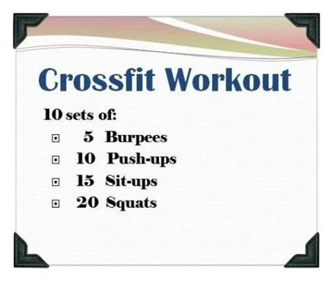 the box home workouts and daily workout routine on