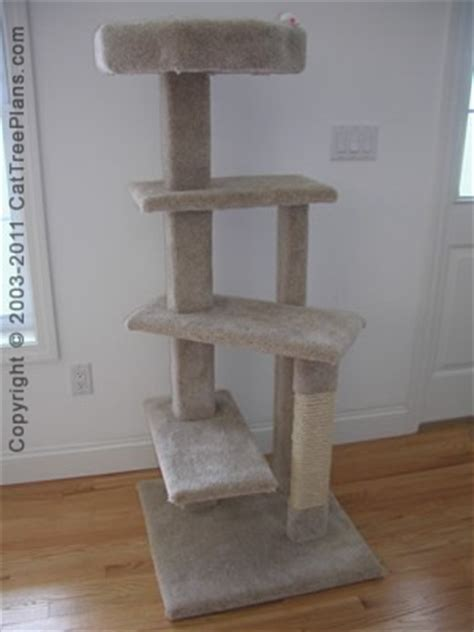 plan details diy cat tree   guide cat tree plans