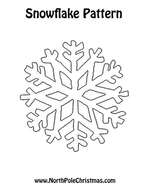printable snowflakes new calendar template site
