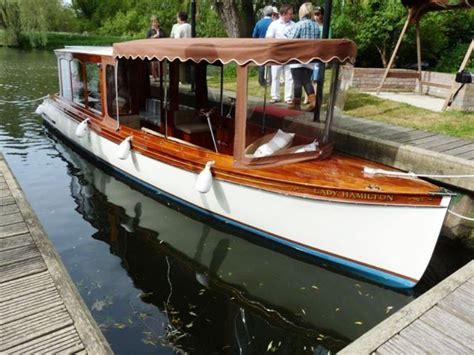 steam boat sale uk gentlemans launch boat for sale quot lady hamilton quot at jones