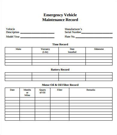 Vehicle Maintenance Log 7 Free Pdf Excel Documents Download Free Premium Templates Vehicle Maintenance Log Excel Template