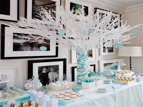 Winter Themed Table Decorations - ready made centerpieces winter baby shower decorations winter wonderland baby shower ideas