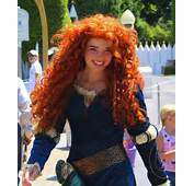 Merida At One Of The Disney Parks