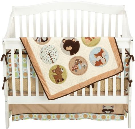 Woodland Friends Crib Bedding by Forest Friends Crib Bedding Sweet Jojo Designs Forest