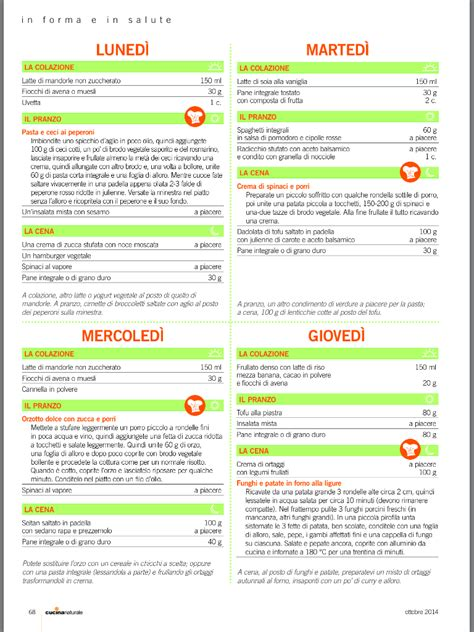 corretta alimentazione settimanale alimentazione vegetariana settimanale 28 images menu