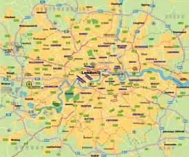 London England Map by Map Of London Johomaps