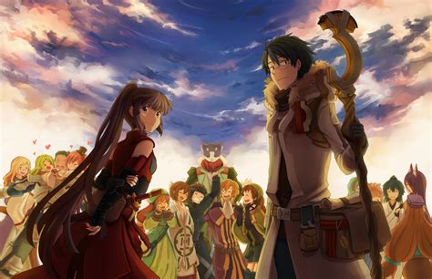 wallpaper anime log horizon log horizon more databasing by pokeypokums on deviantart