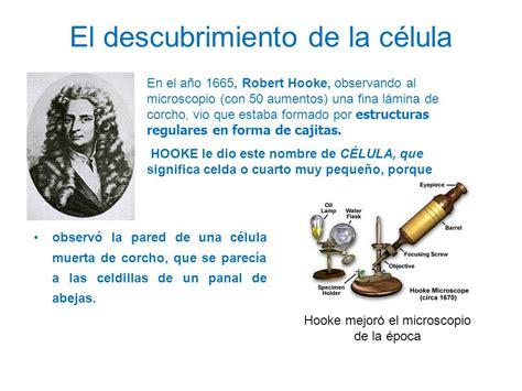el descubrimiento de las ciencia que estudia la c 233 lula ppt video online descargar